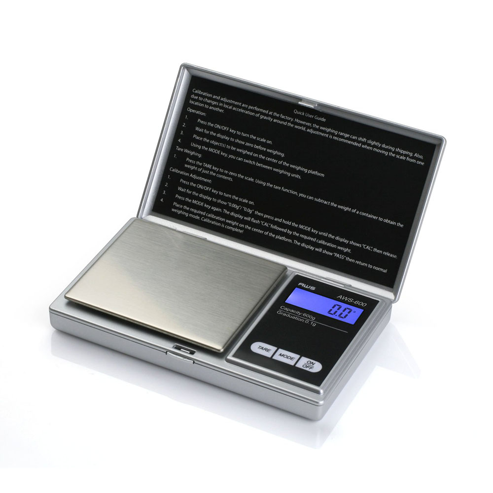 Aws 600 Digital Scale Digital Gram Scale Purebulk