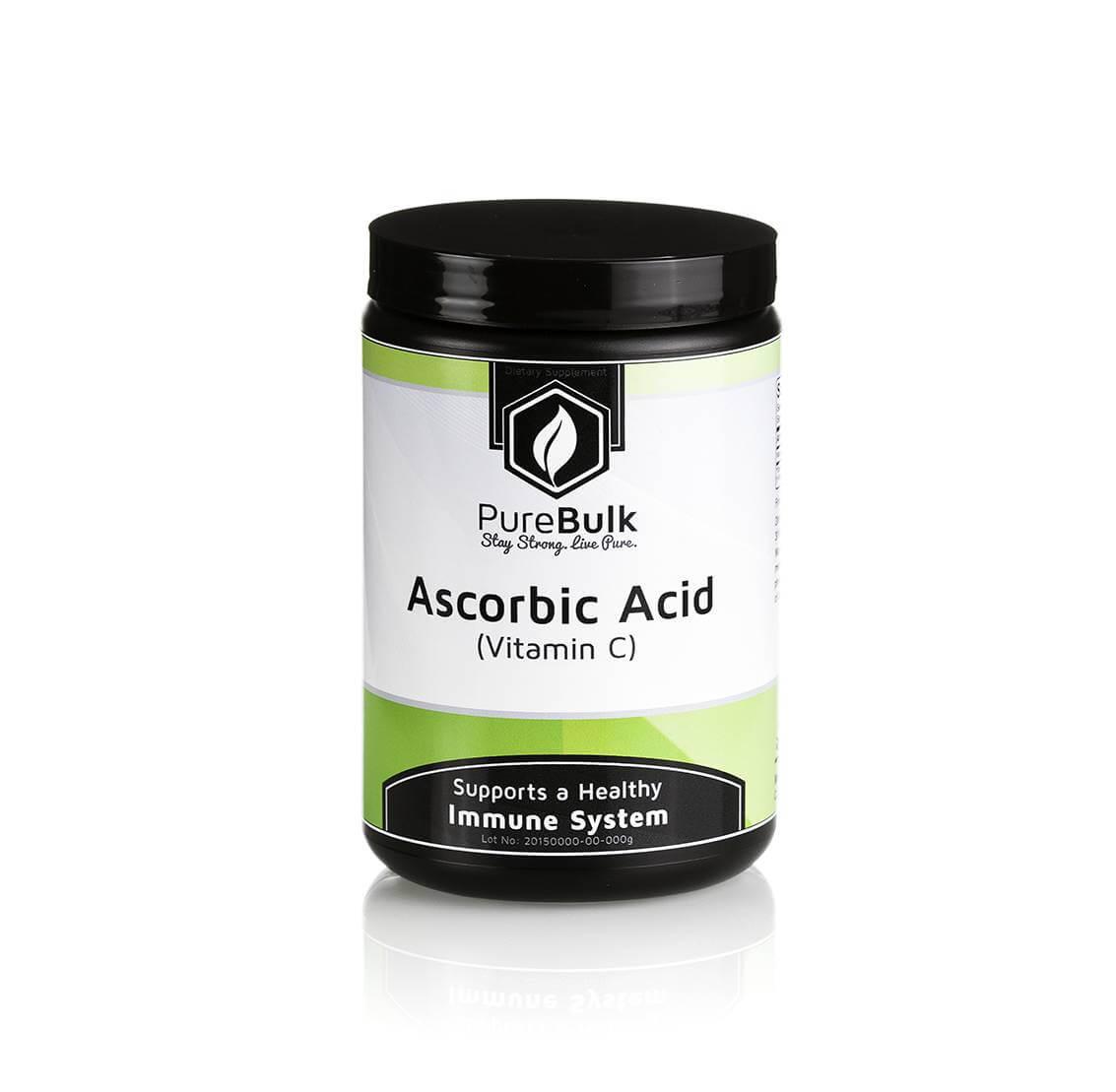 Vitamin C Powder Ascorbic Acid Pure Bulk Vitamins