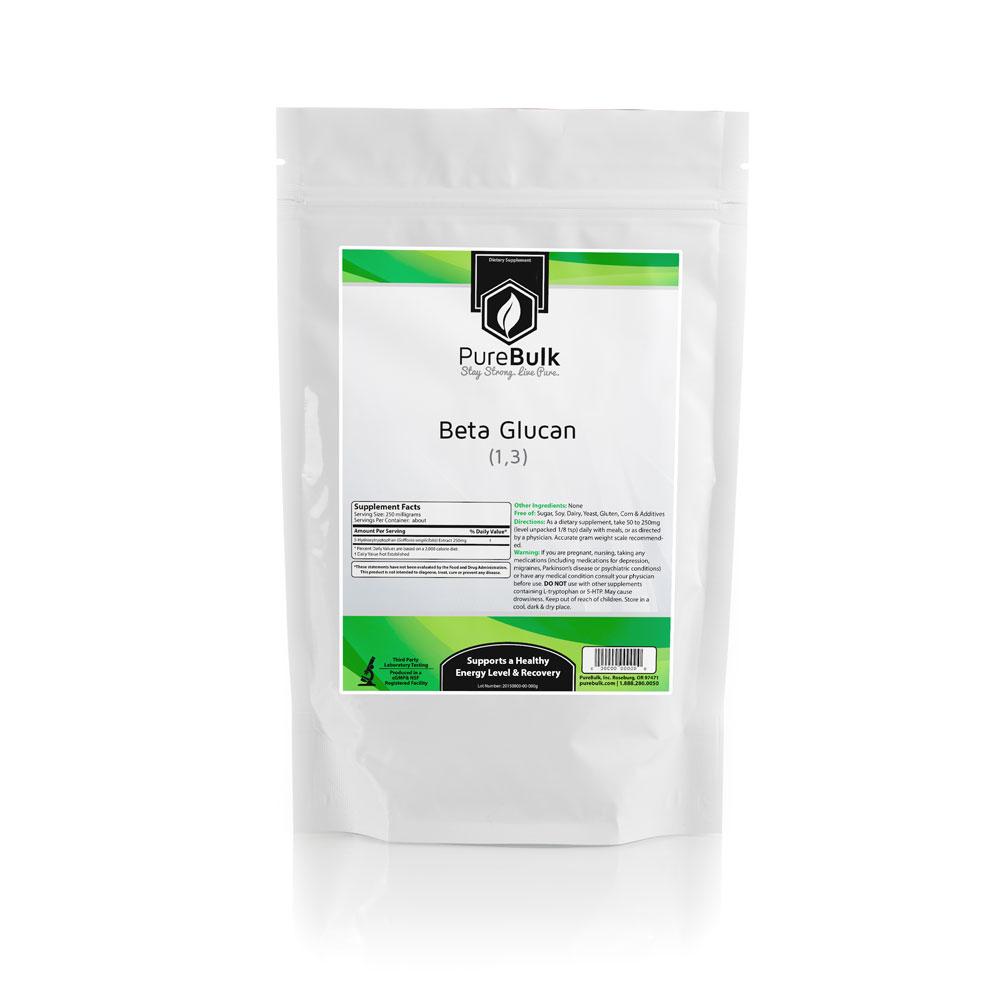 Beta Glucan Powder Health Supplements Pure Bulk