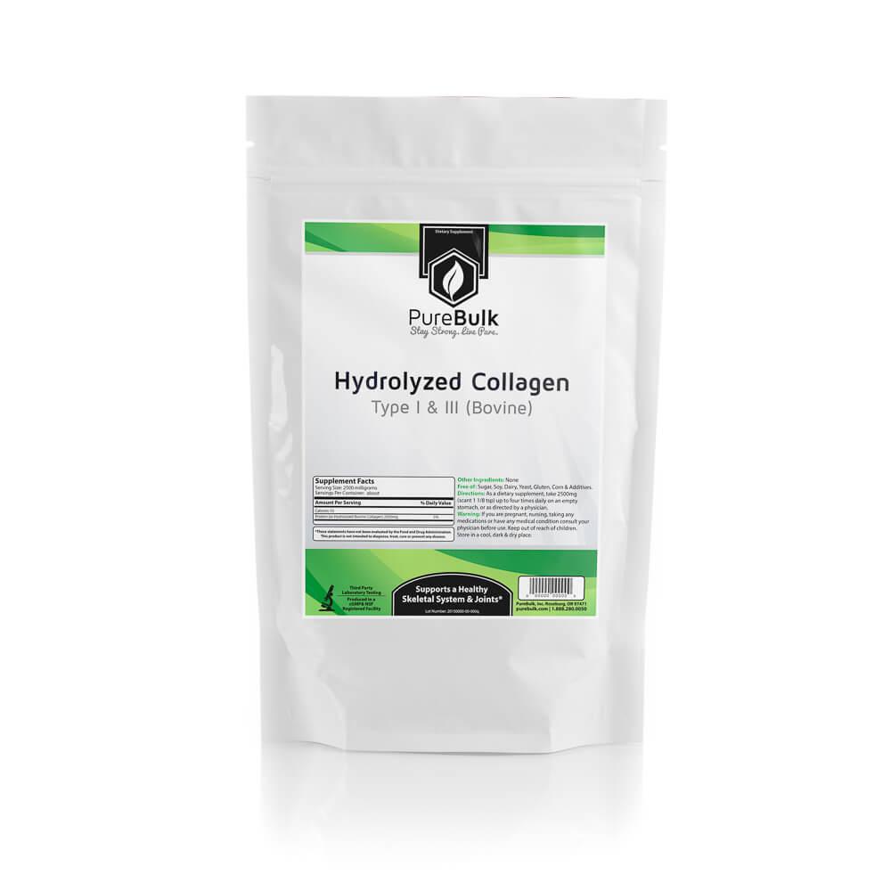 Hydrolyzed Collagen Powder (Bovine) - Health Supplements